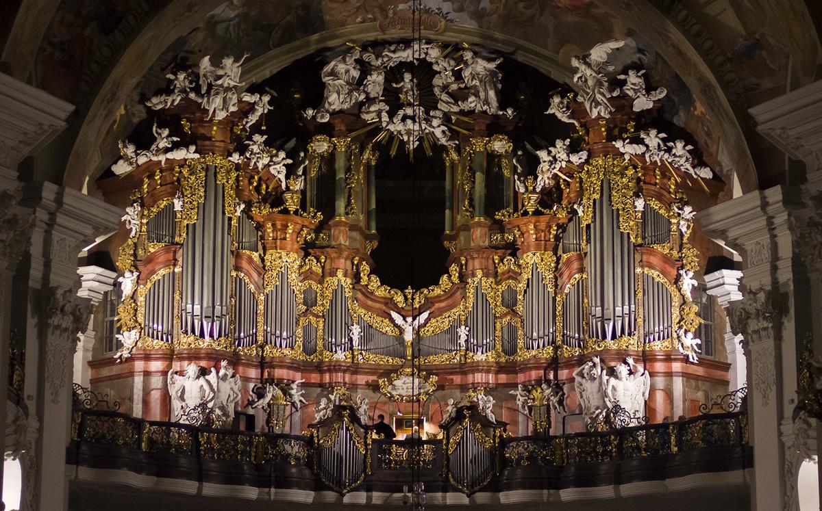 Michael Englers Orgel
